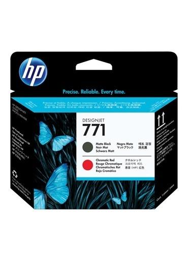 HP 771 Siyah Kromatik Kırmızı Orjinal Designjet Baskı Kafası Ce017A Kırmızı